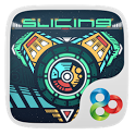 Slicing GO Launcher Theme icon