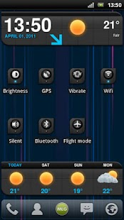 MLG Lightspeed Widget Theme- screenshot thumbnail