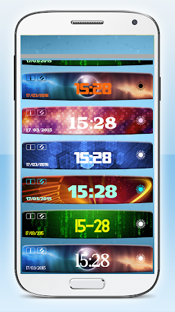 Digital Clock Weather Widget 1.3.2 screenshot 580638