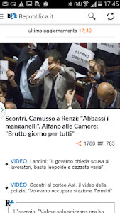 Repubblica.it Gear Fit screenshot 2