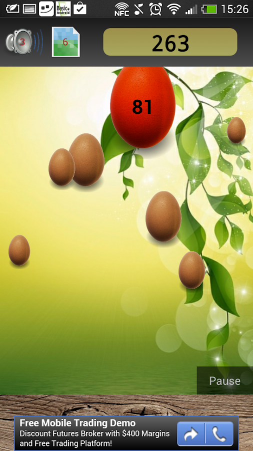Tamago falling Eggs - screenshot