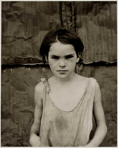 Damaged Child, Shacktown, Elm Grove, Oklahoma