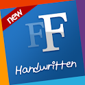 Handwritten free fonts Samsung icon