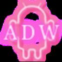 Neon Pink ADW Theme icon