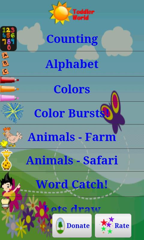 Toddler World - Learn English - screenshot