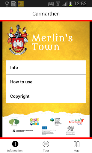 Merlin's Town - Carmarthen
