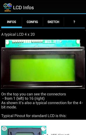 LCDsketcher 4 ARDUINO