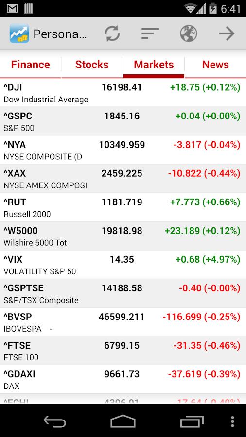 Personal Finance - screenshot