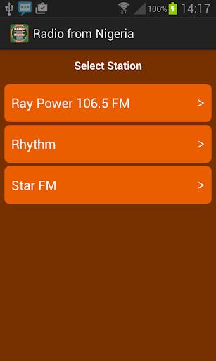 Radio from Nigeria