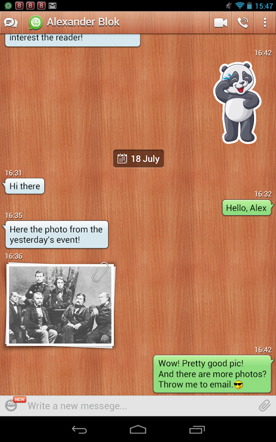 Agent: chat & video calls - screenshot