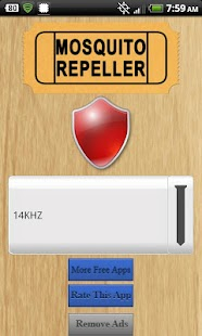 Mosquito Repeller App - screenshot thumbnail