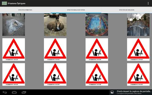ilusiones ópticas: miniatura de captura de pantalla