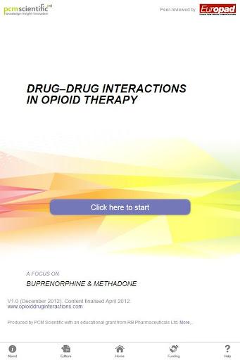Opioid DDIs