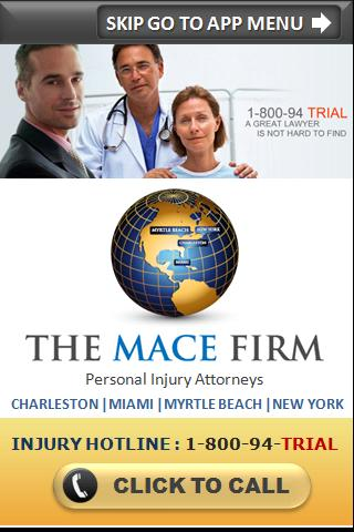 The Mace Firm Accident App- screenshot