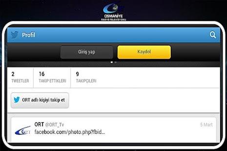 OSMANİYE RADYO TELEVİZYONU - screenshot thumbnail