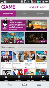 GAME Reward Mobile App - screenshot thumbnail