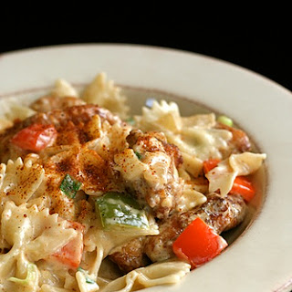 Louisiana Chicken Pasta.