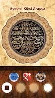 Screenshot of Ayat al Kursi- Ayet-el Kürsi
