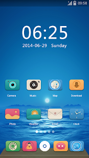Exist GO Launcher Theme- screenshot thumbnail