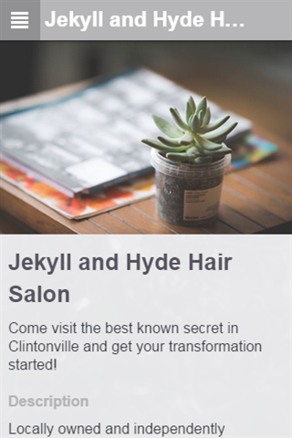 Jekyll and Hyde Salon Booker