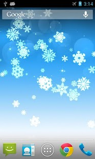 Snowflake Pro Live Wallpaper - screenshot thumbnail