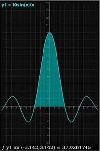 Graphing Calculator - MathPac - screenshot thumbnail