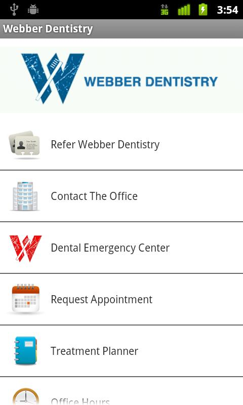 Webber Dentistry - screenshot