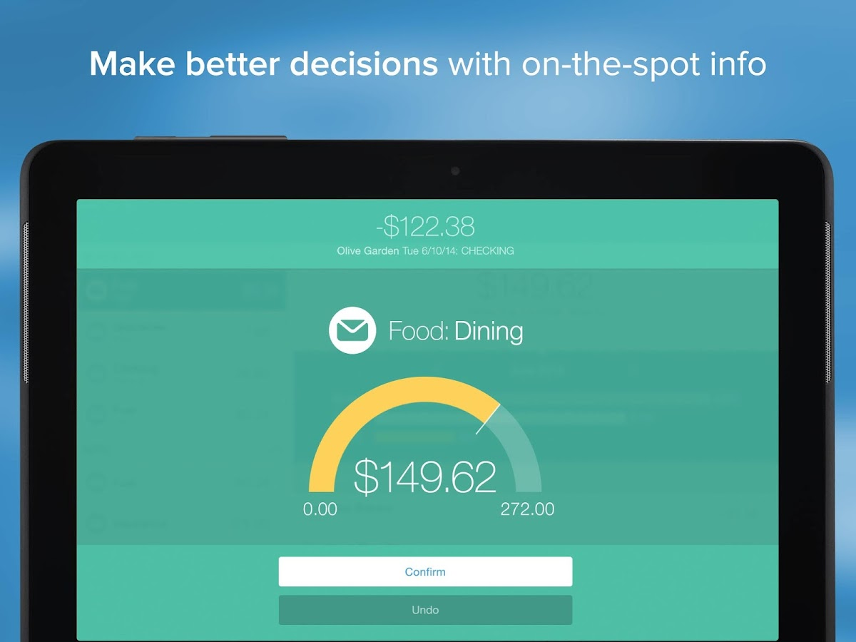 Mvelopes Personal Finance- screenshot