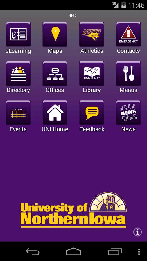MyUNI - screenshot