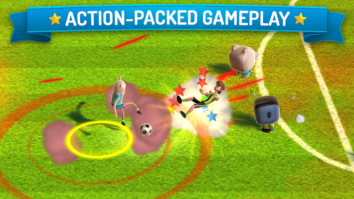 CN Superstar Soccer - screenshot