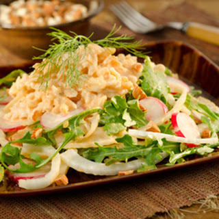 Crabmeat And Fennel Salad.