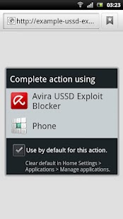 Avira USSD Exploit Blocker - screenshot thumbnail