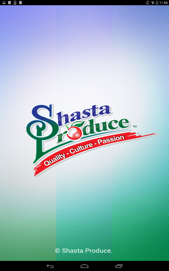 Shasta Produce- screenshot