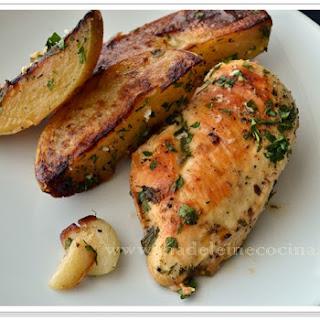 Garlic Chicken and Potatoes.