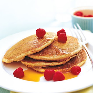 Whole Wheat Buttermilk Pancakes.