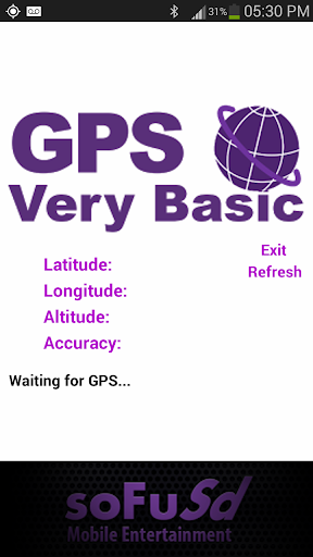 Very Basic and Easy GPS