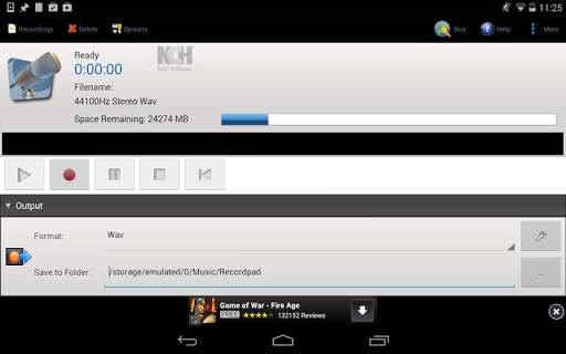 玩音樂App|RecordPad Audio Recorder Free免費|APP試玩