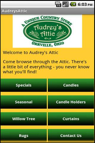 Audrey's Attic- screenshot