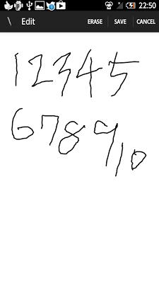 Handwritten Memo - screenshot