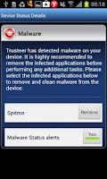 Screenshot of Trusteer Mobile Browser