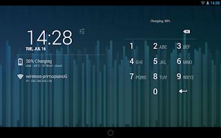 Screenshot of DashClock Battery Extension