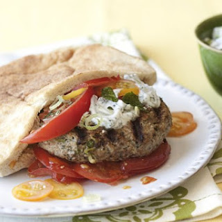 Turkey Feta Burgers Recipe