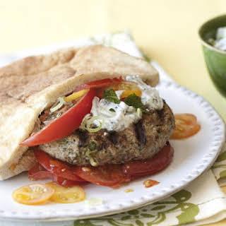 Turkey Feta Burgers.