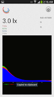 Screenshot of RGB Light Sensor beta