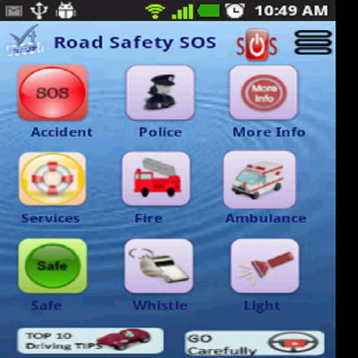 Drive Safe Road Safety SOS