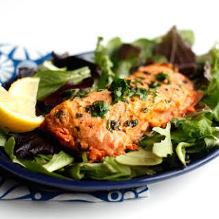 Easy Microwave Salmon.