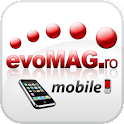 evoMAG.ro Mobile Beta logo