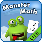 Monster Math Flash Cards Lite icon