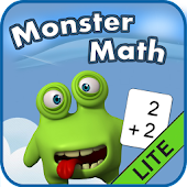 Monster Math Flash Cards Lite