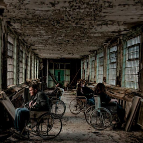 Victims of a Forgotten Asylum... by Dawn Robinson - Buildings & Architecture Decaying & Abandoned